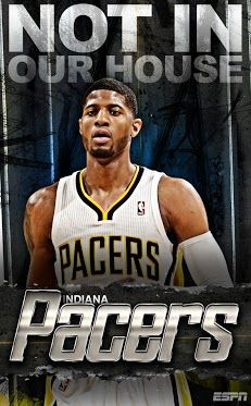 Paul George-The Indiana Pacers Indiana Basketball, Basketball Rules, Basketball Is Life, Basketball Leagues, Basketball Players, Xavier Basketball, Basketball Floor, Basketball Tickets, Sports Basketball