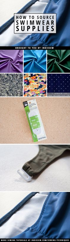Find out where Allie sources her sewing supplies for handmade swimwear! | Indiesew.com