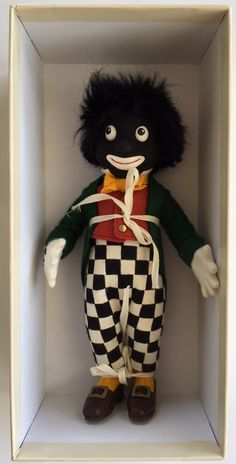 R. John Wright Dolls Golliwogg Doll 1st Collectors Club