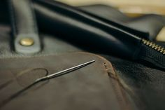 Leather sewing www.maruuleather.com