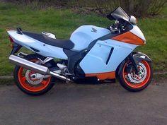 Custom CBR 1100 XX Fuel Injection, Blackbird, Cbr, Honda, Motorcycles, Bike, Bicycle, Bicycles, Motorbikes