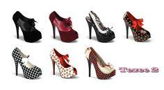 Zapatos Pin Up de USA