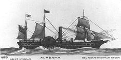 First ship named Alabama. Civil War