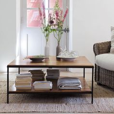 High Quality Lubéron Square Coffee Table