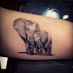 elephant tatoo