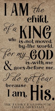 SVG, DXF & PNG - I am the daughter of a king who is not moved by the world, I am his by MyFunkyFarmHouse on Etsy Prayer Quotes, Bible Verses Quotes, Bible Scriptures, Spiritual Quotes, Faith Quotes, Positive Quotes, Prayer Scriptures, Spiritual Meditation, Encouragement Quotes