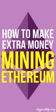 The Ultimate Guide to Mining Ethereum Atypical Life - Ethereum Mining - Ideas of Ethereum Mining - The ultimate guide to Ethereum mining. Everything you need to know to get started. The gear and software to start making money today. Make Money Today, Make Money From Home, How To Make Money, How To Become, Ways To Save Money, Money Tips, Ethereum Mining, Crypto Mining, Early Retirement