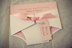 cutest baby shower invitations ever.  no babies for me right now, but i can appreciate!