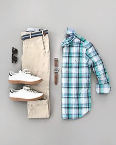 Mens Casual Dress Outfits, Stylish Mens Outfits, Cool Outfits, Casual Ootd, Business Casual Attire For Men, Casual Shirts For Men, Chinos Men Outfit, African Wear Styles For Men, Trendy Fashion
