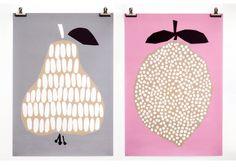 Affiche Darling Clementine - Poire - Darling Clementine, Mes Habits Chéris - kidstore Récréatif - Décoration enfant