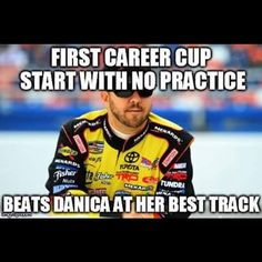 Matt Crafton 2015 Daytona, in for Kyle Busch. So True Matt.