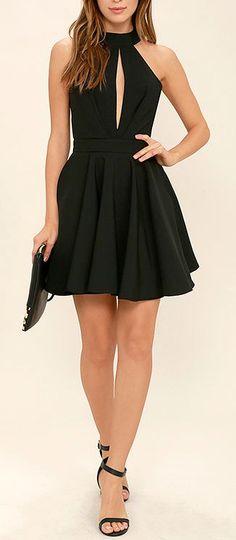 Vestido casual Preto #Blogueirinha