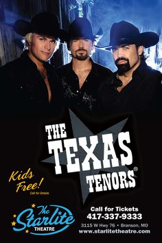 The Starlite Theatre is the home of The Texas Tenors