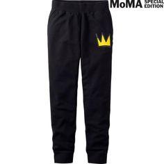 SPRZ NY Sweatpants (Jean-Michel Basquiat) | Uniqlo $29.90