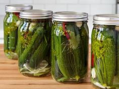 Fermented Dill Pickles
