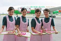 Would You Fly In A Hello Kitty Plane?