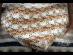 Tutorial Cuello o Bufanda Crochet Circle Scarf