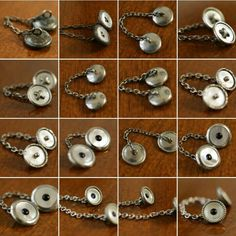 coming soon: mop French collar chains, check out the vintage cufflinks