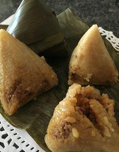 My bakcang or bacang or zhong zi Asian Recipes, Ethnic Recipes, Gluten Free, Cheese, Food, Glutenfree, Meal, Eten, Asian Food Recipes