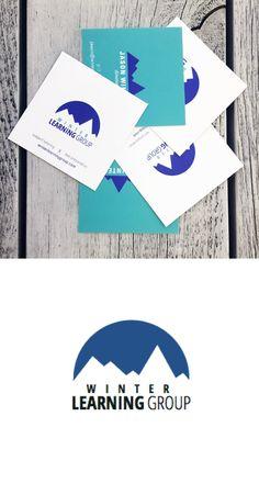 Identity & business card design for Winter Learning Group. #identity #businesscard #businesscarddesign #design #print #branding #winterlearninggroup #tinyrebels #tinyrebellions #creative