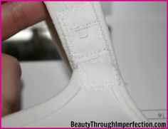 How to Convert Your Favorite Bra Into a Nursing Bra (for less than $5) - Beauty Through Imperfection