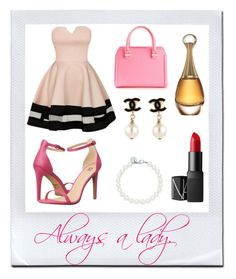 """Always a lady"" by ghabryellaborges on Polyvore"