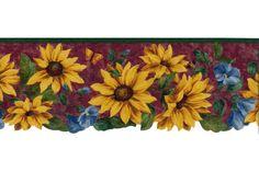 Floral Borders : Sunflower Wallpaper Border 5810441
