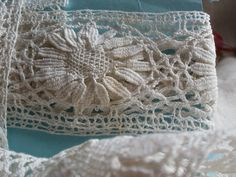 Bedfordshire lace torchon from BrocanteArt https://www.etsy.com/uk/shop/BrocanteArt