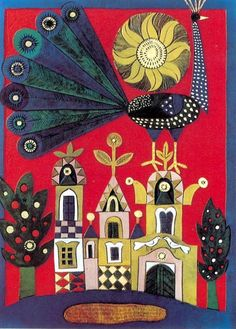 Károly Reich (1922–1988) was an Hungarian artist best known for his children's book  illustrations and poster designs. Born in a farming family in the lake Balaton area,  Károly loved to draw, preferably animals. At 18 he won a scholarship and moved to Budapest,  where he graduated at the Hungarian Academy of Applied Art.