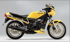 1984 Yamaha RZ-350  Last of the U.S. 2-strokes.  As long as there were enough curves I could keep-up w/the 1100s in my Cafe Racer's club.  W/carb & reed valve kits + special expansion chambers mine once wound-out to 155 mph on a 3 mile straight.  Wheelies in 3rd.   I want mine back!