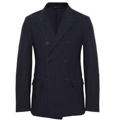 Aspesi - Slim-Fit Textured-Cotton Blazer MR PORTER