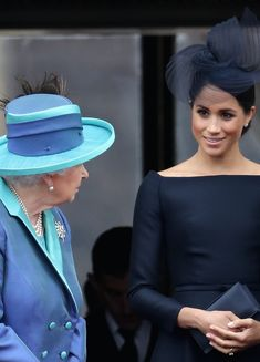 At the Royal Air Force (RAF) 100 flypast, Kate Middleton, Meghan Markle, Queen Elizabeth, Prince Charles and more all gathered to celebrate. Prince Harry Et Meghan, Princess Meghan, Princess Diana, English Royal Family, British Royal Families, Royal Uk, Royal Life, Duke And Duchess, Duchess Of Cambridge