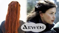 Catching up on some more Middle Earth braid style with this one. It's hard to tell what's really going on in Arwen's hair during this scene because she has d...