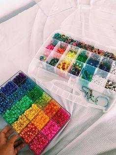 b r a n s o l e t s (klaudia_zuchowska) Pony Bead Bracelets, Beaded Braclets, Pony Beads, Friendship Bracelets, Beaded Jewelry, Handmade Jewelry, Cute Jewelry, Diy Jewelry, Jewellery
