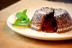 Easiest chocolate lava cake ever! with only 5 ingredients!