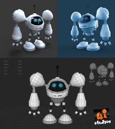 ArtStation - Robot, Alan Balodi