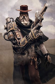 another steampunk cowboy