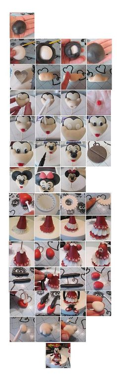 Minnie mouse - Tutorial