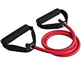BlueBeach® Resistance Fitness Band D Type - Gym Yoga Muscle Workout Exercise Elastic Equipment Training Tool Tube Rope Cable Stretch Fashion Body (Random Colour) - https://www.trolleytrends.com/?p=691380