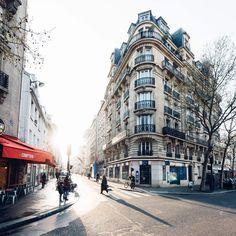 Morning light, Paris.