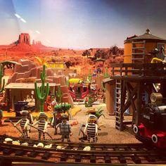 Lejano Oeste versión Playmobil. Far West. #oeste #west #playmobil #juguetes #toys
