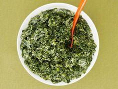 Lighter Creamed Spinach | Ellie Krieger