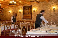 Ya va estando todo listo! en breve este salón se llenará de mucha actividad y de los olores y sabores deliciosos de la cocina asturiana!!!