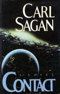 Contact, Book Club Edition: Carl Sagan Space life in space Good Books, Books To Read, My Books, Contact Carl Sagan, Carl Sagan Books, Film Science Fiction, Cinema Tv, Sci Fi Books, Horror Books