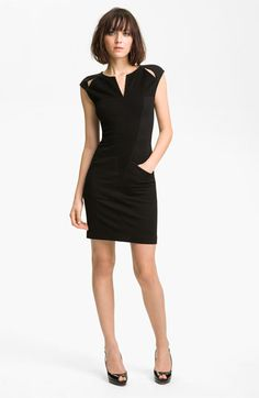 Kelly Wearstler Sueded Twill Dress | Nordstrom