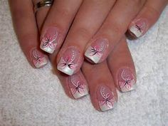 Image detail for -... Ideas Designs Pictures Images: Zebra Nail Designs - Acrylic Nails