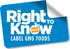 Right to know -- Vote with your dollars and support brands that support your right to know about GMO ingredients!!!