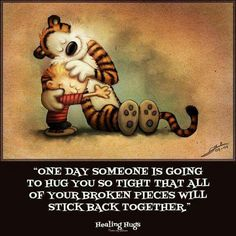 """""""Friends Forever by ~Andantonius on deviantART"""" :) Love Calvin and Hobbes Calvin And Hobbes Comics, Calvin And Hobbes Quotes, Calvin And Hobbes Tattoo, Healing Hugs, Fun Comics, Friends Forever, Comic Strips, Make Me Smile, Funny Quotes"""