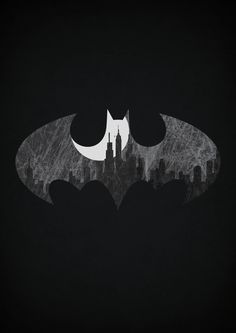 Batman (superhero sign poster series) | By: Alex Litovkas