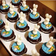 Cupcakes de Páscoa coelhinho